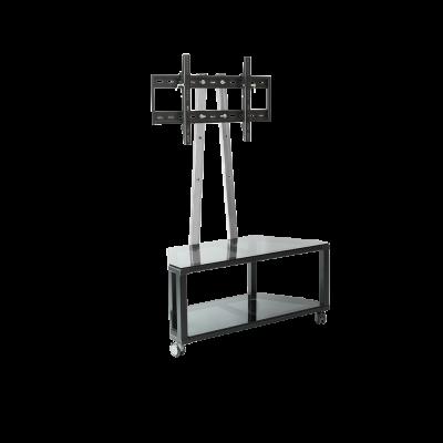 """รุ่น G5 ขาตั้งทีวีรองรับขนาดจอ 32""""-50"""" ทุกรุ่นทุกยี่ห้อ มีชั้นกระจกอเนกประสงค์ 2 ชั้น สูง 1.30 เมตร"""